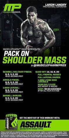 musclepharm shoulder workout - Google'da Ara