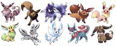 eeveelutions | re: Eeveelutions - Page 7 - Pokémon Black Version - Neoseeker Forums