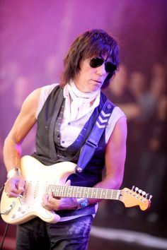 'If the voice can't say it the Guitar will play it' - Jeff Beck