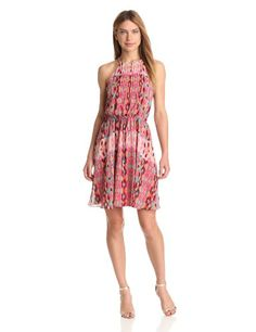 Buy Jessica Simpson Womens Halter Pleated Dress at the Dress Shop Holiday Dresses, Summer Dresses, Jessica Simpson Collection, Jessica Simpson Dresses, Amazing Women, My Girl, Clothes For Women, Casual, Paradise