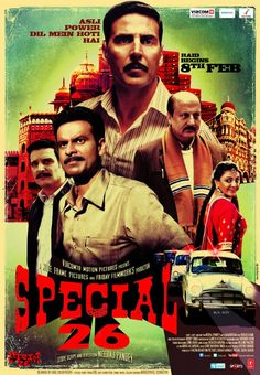 Watch movies special Watch full length special 26 movie for free online. Watch special 26 starring manoj bajpai in this drama on directv. Movies To Watch Hindi, Hindi Movies Online, Watch Free Movies Online, Akshay Kumar, Disney Pixar, Special 26, Comedy, Imdb Movies, Full Movies Download