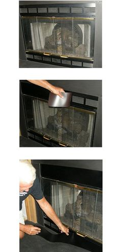 1000 images about Magnetic Fireplace Vent Cover