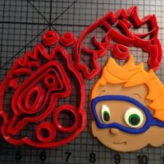 Bubble Guppies Nonny Cookie Cutter Set