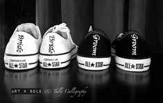 Customised Converse © with Art & Sole - TULLY CALLIGRAPHY