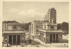 M<3 Milano Porta Venezia e Casa Rasini, 1934-49; Archivi dell'Immagine - Regione Lombardia | Foto di Alberto Modiano | Milan
