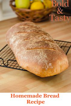 A recipe for a classic white bread with 60% made with commercial yeast. #food #bread #bakingbread #recipe #cookingbasics #baking #foodblog #boldandtasty Instant Yeast, White Bread, Popular Recipes, Food Items, Classic White, Bread Baking, Tray Bakes, Vegan Vegetarian, Baked Goods