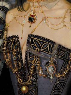 Margaret of Valois, Queen Margot, Queen of France, 1569 – Enlarge - Art Painting Classical Art, Detail Art, Renaissance Art, Mode Inspiration, Fashion History, Costume Design, Art History, Art Photography, Fine Art
