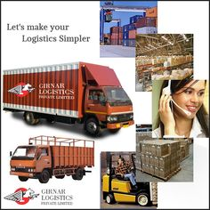 #GirnarLogistics is leading #TransportCompany in Ahmedabad. With expertise hand in transportation industry, we offer a comprehensive and cost-effective solution to all your transportation needs. https://goo.gl/tdFYBD