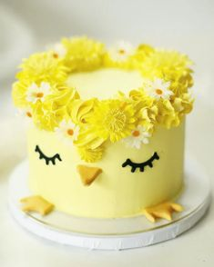 Easter Bunny Cake, Easter Cupcakes, Easter Treats, Easter Desserts, Easter Recipes, Pretty Cakes, Cute Cakes, Spring Cake, Cute Birthday Cakes