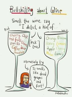 Wine tasting tips for people like me who love wine but don't know anything about wine.