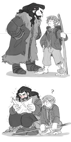 The hobbit-doodle by MadJesters1 on DeviantArt