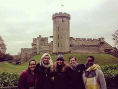 #London students exploring #warwickcastle  #ispyapi