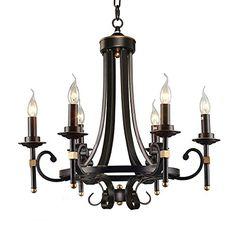 LNC Antique 5-light Black Iron Chandelier Candle Light Li... https://www.amazon.com/dp/B018K8SEI8/ref=cm_sw_r_pi_dp_nRvKxbBAF7V3J