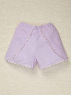 scalloped shorts Addie & Ella (elastic waist in back)
