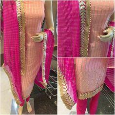 (Advertisement)eBay- Voguemart5 Sakshi Indian Designer Peach Shalwar Suit Salwar kameez New Wedding