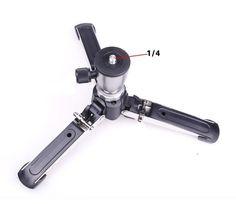 """3 Legs Monopod Base 1/4"""" Stand Unipod Tripod Holder Support For DSLR Camera #UnbrandedGeneric"""
