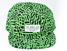 "5-Panel Fridays: THE QUIET LIFE ""Aztec Green"" Cap"