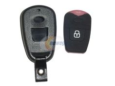 Replacement Keyless Entry Remote Shell Pad Case Fix Repair Key Fob Click 2 Button for Hyundai - Newegg.com