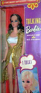 1971 talking barbie #1115