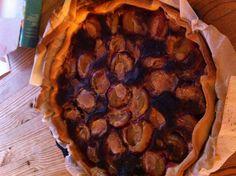 Tarte aux prunes :-)