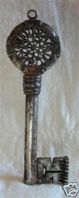 antique wonderful key