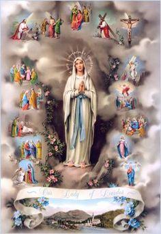 Vamos, neste mês de Maio, conhecer, amar e honrar mais ainda nossa amada Mãe do Céu?