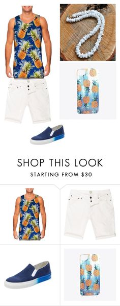 """Summer Outfit"" by devinhoward ❤ liked on Polyvore featuring River Island, The Generic Man, Nikki Strange, men's fashion and menswear"