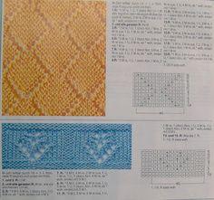 Kira knitting: Knitted pattern no. 44