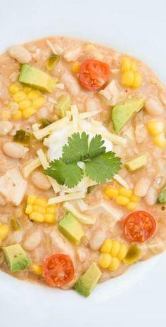 Creamy White Bean Chicken Chili | Gringalicious