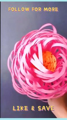 Easy Paper Crafts, Diy Home Crafts, How To Make Paper Flowers, Diy Flowers, Diy For Kids, Crafts For Kids, Scissor Skills, Paper Flower Tutorial, Diy Furniture Projects