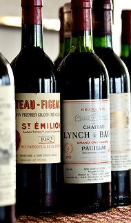 Fantastic Year. Right bank of bordeaux (Figeac, St Emilion) and Left Bank (Lynch Bages, Pauillac)