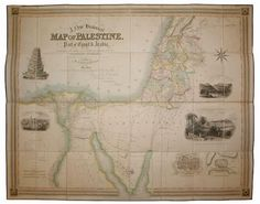 A New Historical Map of Palestine, With: Creighton, R. At Burns & Co., we create rare historical art produced from prints, photographs, manuscripts, ancient texts, & reliefs. Visit: https://www.pinterest.com/BurnsCoGallery/ or call (888) 266-9385.