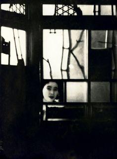 Yoshiwara, pleasure district in Tokyo, 1930
