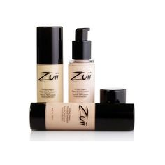 Zuii Flora Liquid Foundation *Certified Organic Make-up ($2.08) ❤ liked on Polyvore