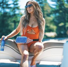 Red white and brew 🍻 Happy of July! Hair Color 2018, Latest Hair Color, Hair 2018, Red White And Brew, Casey Holmes, Fall Hair Colors, Shoulder Length Hair, Cut And Color, Trendy Hairstyles