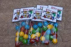 paintball party favors | Paintball Party Favors - | Party Ideas