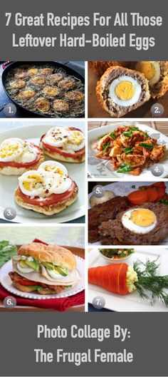 7 Great Recipes For All Those Leftover Hard-Boiled Eggs - The Frugal Female