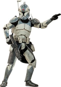 Star Wars Clone Commander Wolffe Sixth Scale Figure by Sides | Sideshow Collectibles