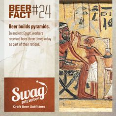 """Beer """"Fact"""" #24. More at: http://www.swagbrewery.com/blogs/beer-facts"""