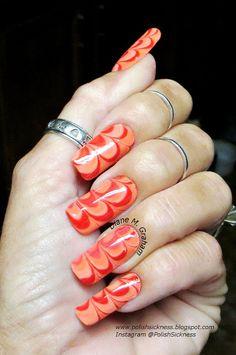Cult Avalon, Julep Sasha, 10 Professional And the Winner is. Beautiful Nail Art, Gorgeous Nails, Pretty Nails, Nice Nails, Colorful Nail Designs, Nail Art Designs, Nails Design, The Art Of Nails, Water Marble Nail Art