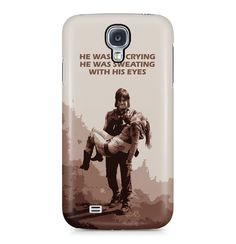 The Walking Dead Daryl Dixon Sweating With His Eyes Hard Plastic Phone Case Cover For Samsung Galaxy S4 Hülle: Amazon.de: Elektronik