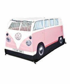 I want a pink Volkswagen bus tent!!!