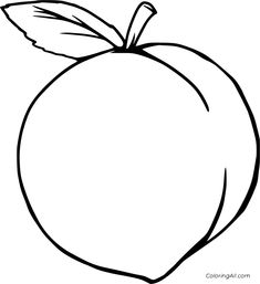 8 free printable Peach coloring pages in vector format, easy to print from any device and automatically fit any paper size. Fruit Coloring Pages, Easy Coloring Pages, Animal Coloring Pages, Coloring Sheets, Quilting Stencils, Free Stencils, Stencil Templates, Dot Painting, Painting For Kids