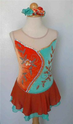 KIM Competition Ice Skating Dress Dance Child 10 #Kim