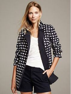 Gingham Trench - Coats