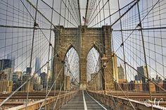The Brooklyn Bridge  OC