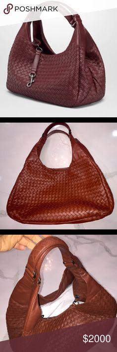 Bottega Veneta Campana Large Bag Barolo intrecciato nappa Bottega Veneta Bags Shoulder Bags