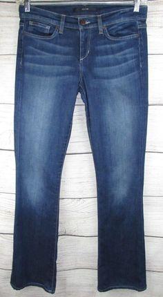 473ad41324a80 JOE'S JEANS womens 29 actual 33x34 ROCKER slim Boot Cut Dark Wash  #JoesJeans Rocker Boots