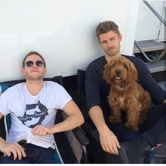 """fyeahdecaestecker: """" Hangin outside the makeup trailer with Iain De Caestecker, Agent Alphie and Luke Mitchell. Marvel Show, Marvel Films, Marvel Avengers, Agents Of Shield Seasons, Marvels Agents Of Shield, Shield Cast, Agents Of S.h.i.e.l.d, Luke Mitchell, Iain De Caestecker"""