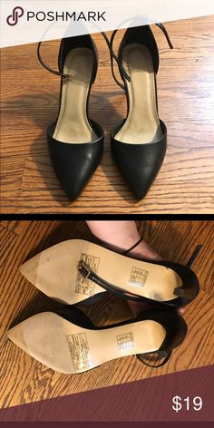 Forever21 D'Orsay Heels Worn only once! Forever 21 Shoes Heels